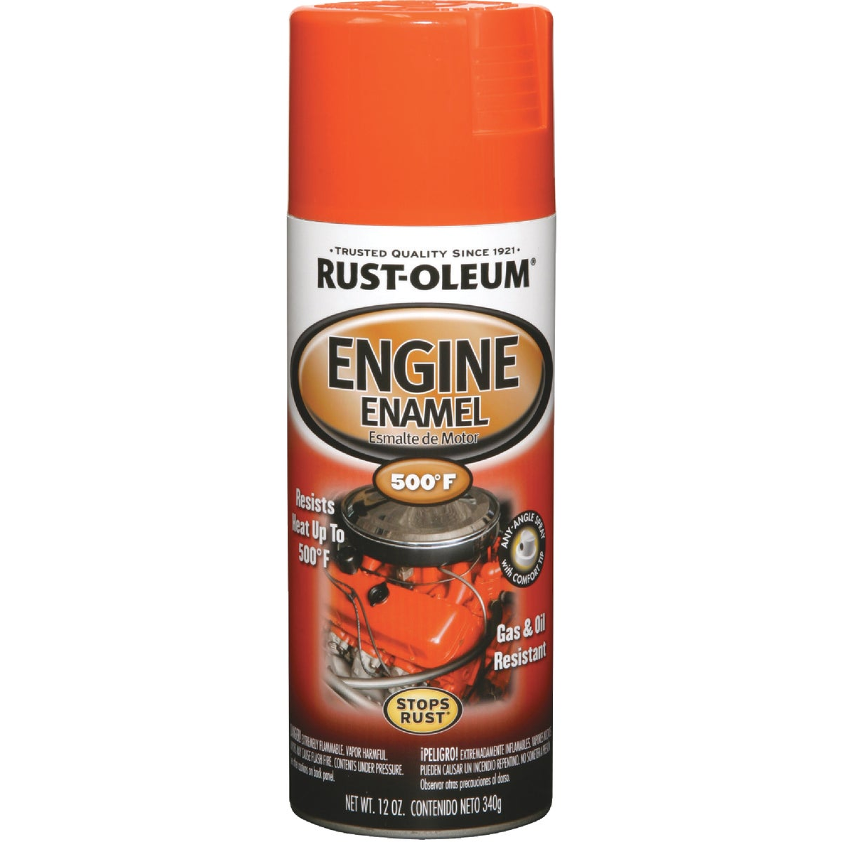 CHEVY ORNG ENGINE ENAMEL - 248941 by Rustoleum