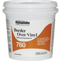 Dynamite 760 Vinyl Over Vinyl Wallcovering Adhesive, Quart