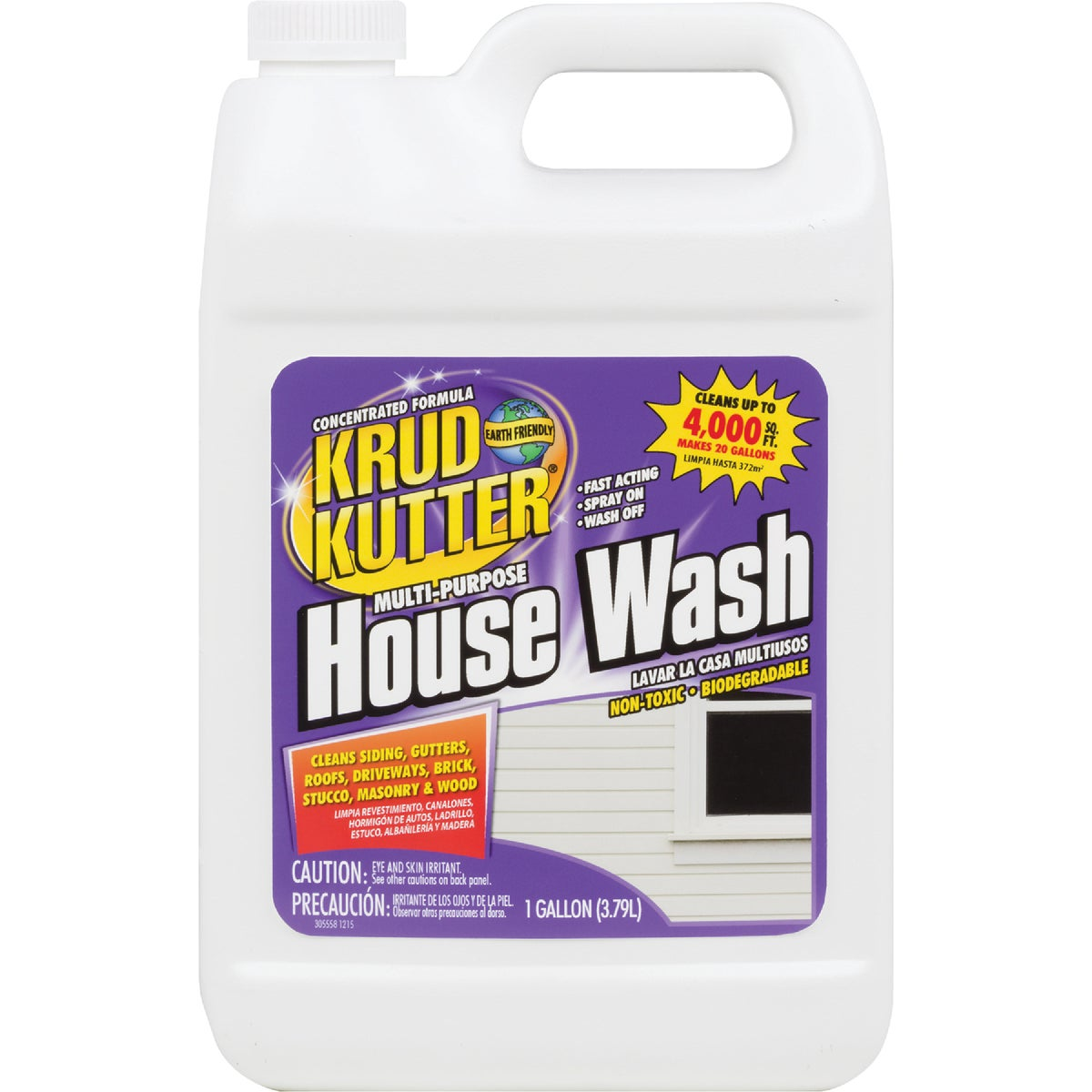 GAL HOUSE WASH - HW01/2 by Supreme Chemicals