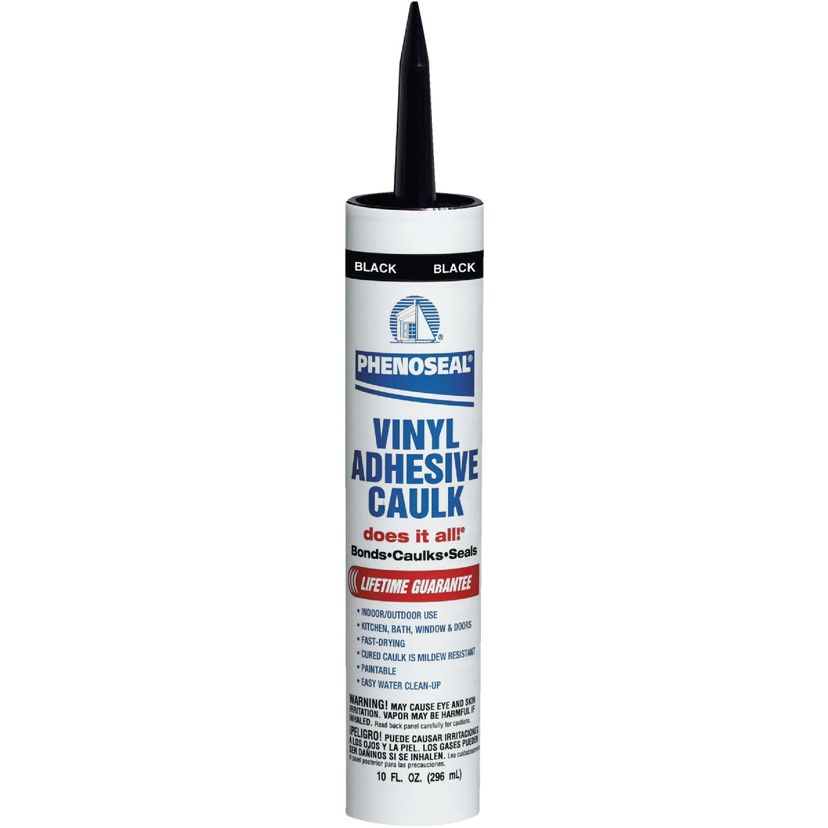 BLACK ADHESIVE CAULK - 06102 by Dap Inc