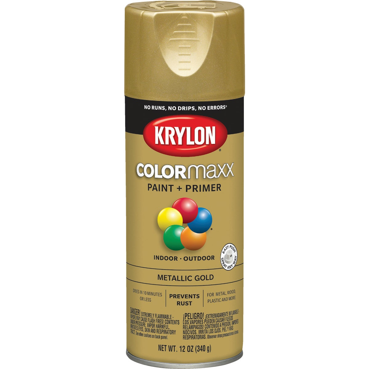 GLOSS GOLD SPRAY PAINT - 51510 by Krylon/consumer Div