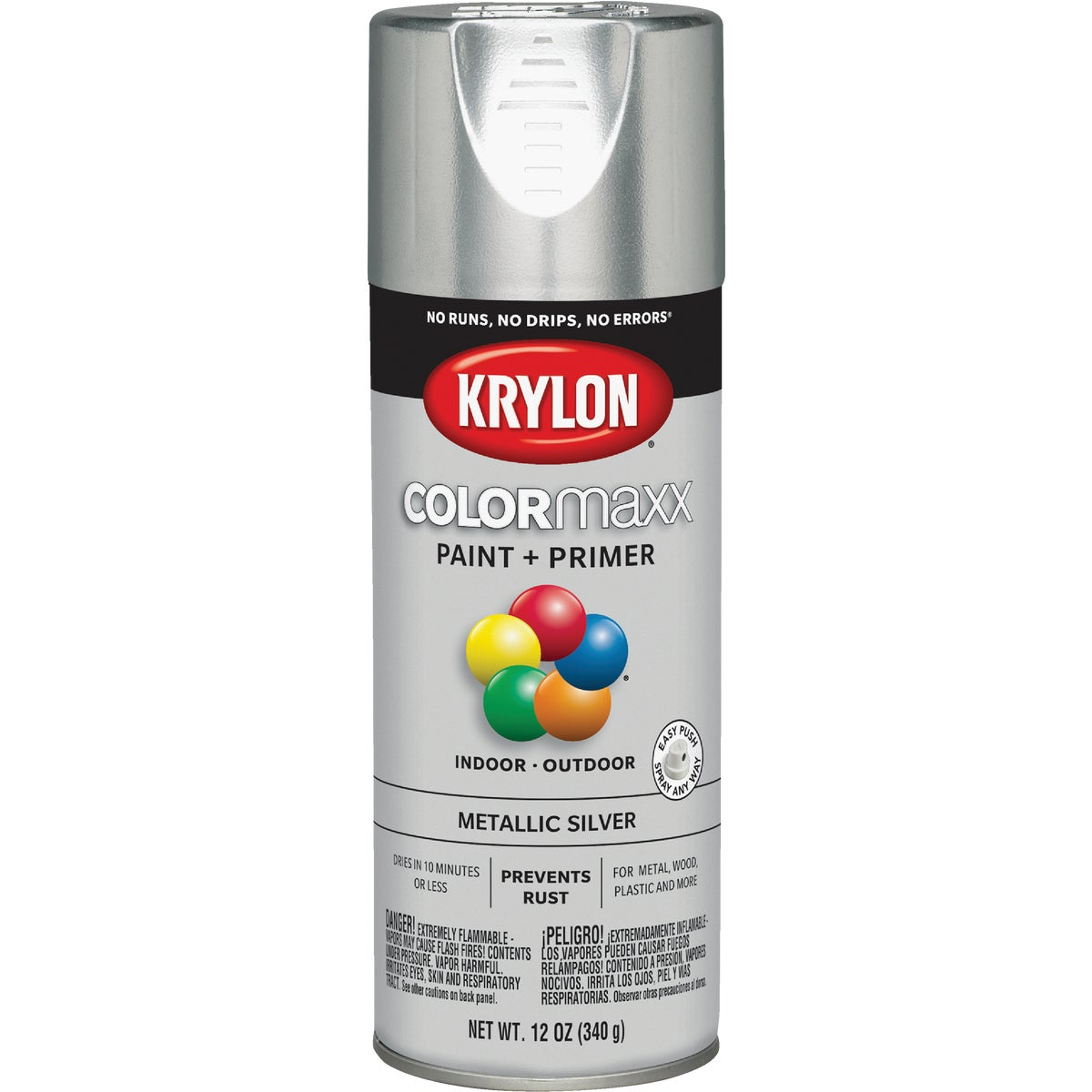 GLOSS SILVER SPRAY PAINT - 51511 by Krylon/consumer Div