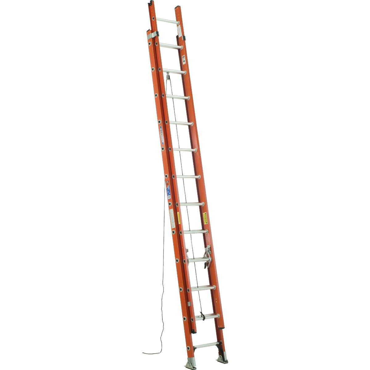 T-1A 24' FBGL EXT LADDER - D6224-2 by Werner Ladder