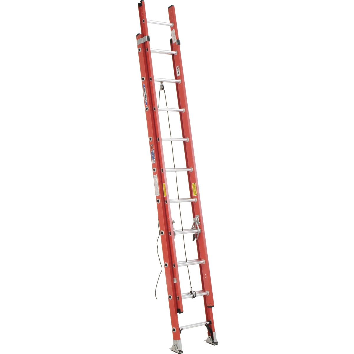 T-1A 20' FBGL EXT LADDER - D6220-2 by Werner Ladder
