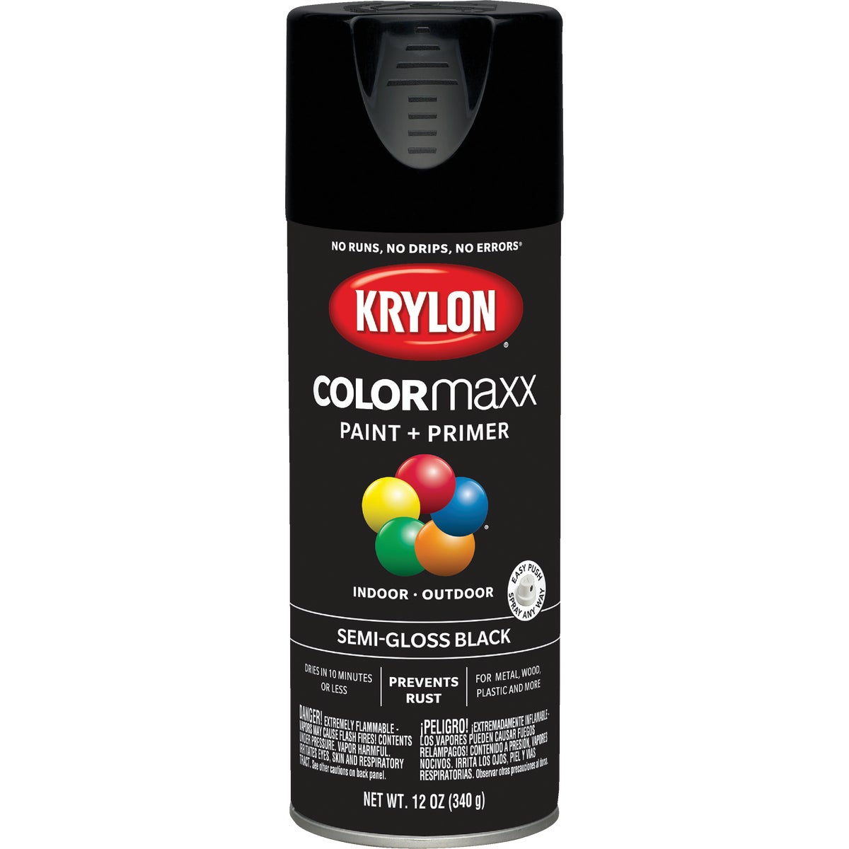 S/G BLACK SPRAY PAINT - 51603 by Krylon/consumer Div