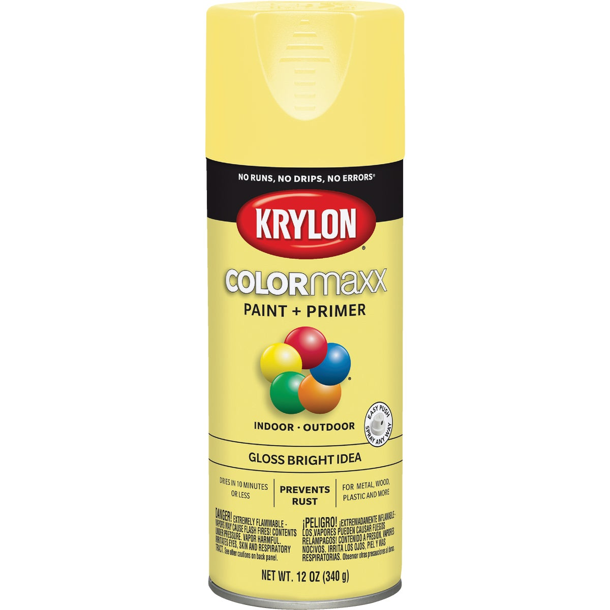 GLS BRT IDEA SPRAY PAINT - 53538 by Krylon/consumer Div