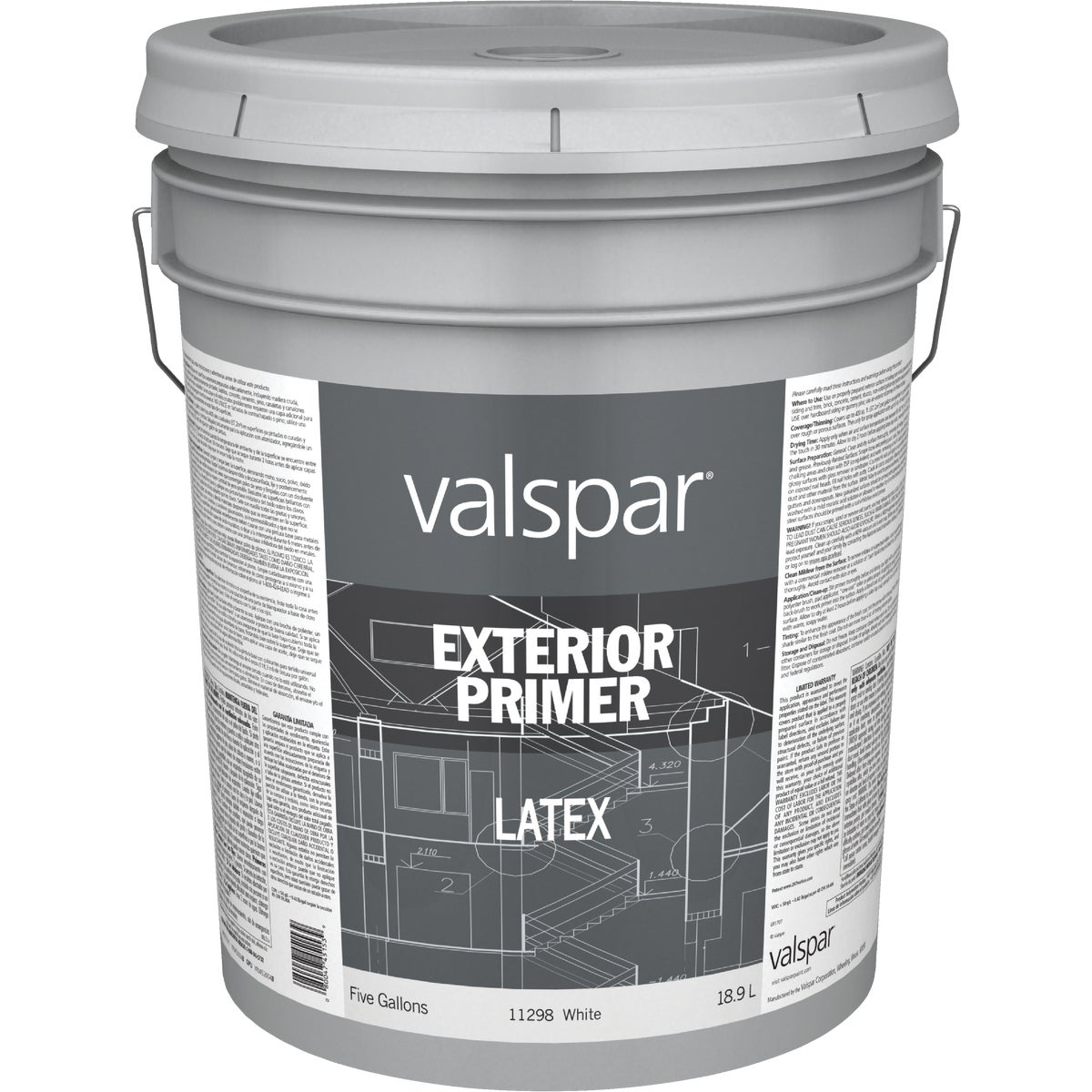 EXT ACRYLIC LATEX PRIMER - 045.0011298.008 by Valspar Corp