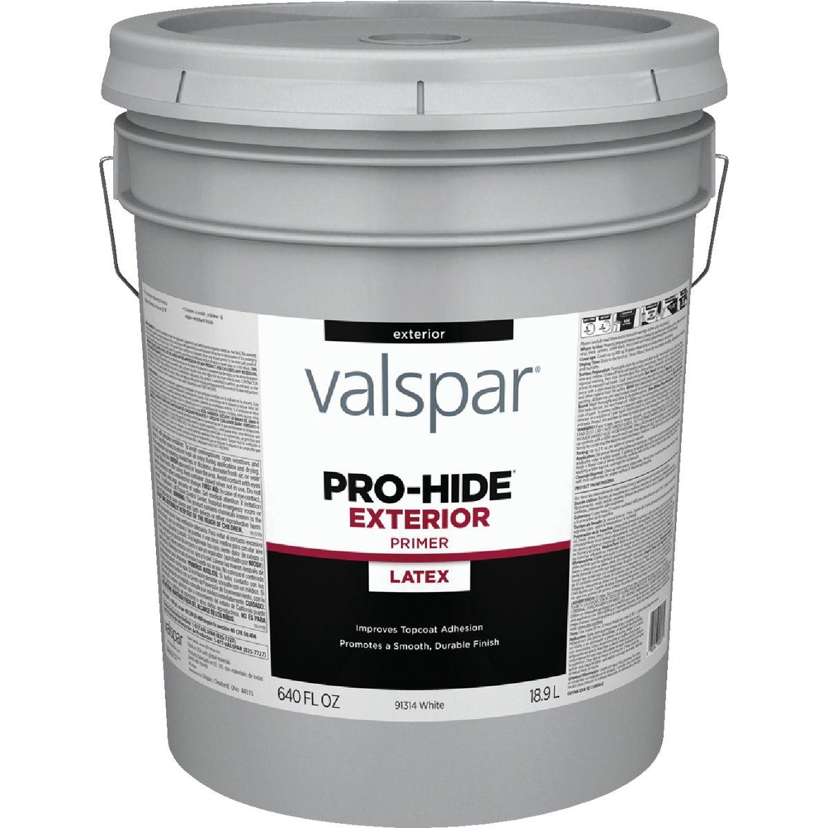 Valspar 11298 Professional Exterior Latex Primer, 5-Gallon