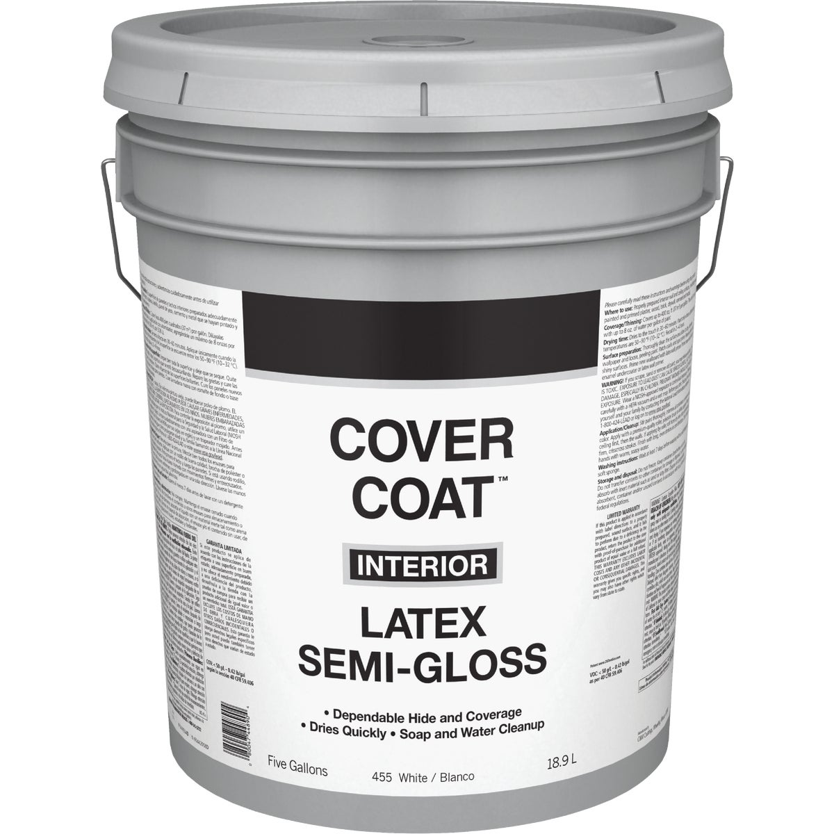 INT S/G WHITE PAINT - 044.0000455.008 by Valspar Corp