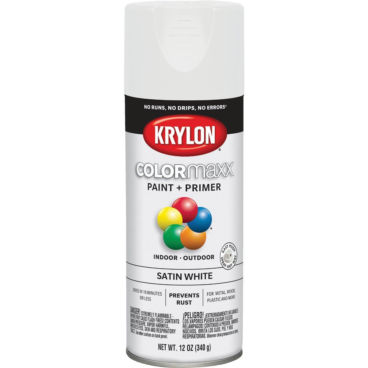 SAT WHITE SPRAY PAINT - 53564 by Krylon/consumer Div