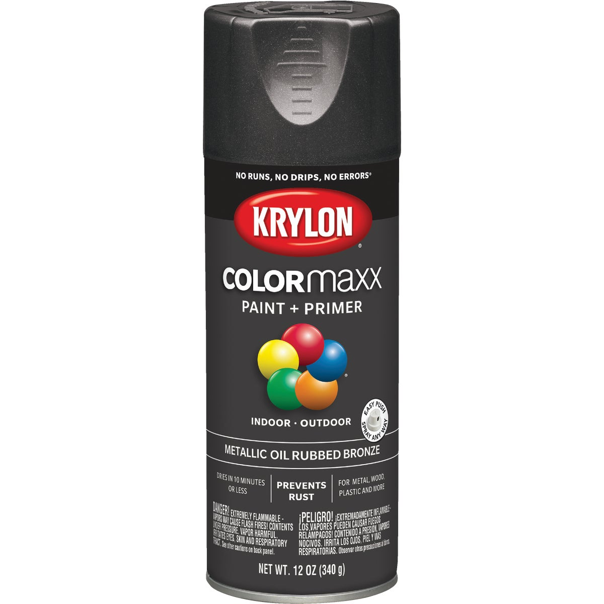 OIL R BRONZE SPRAY PAINT - 51254 by Krylon/consumer Div