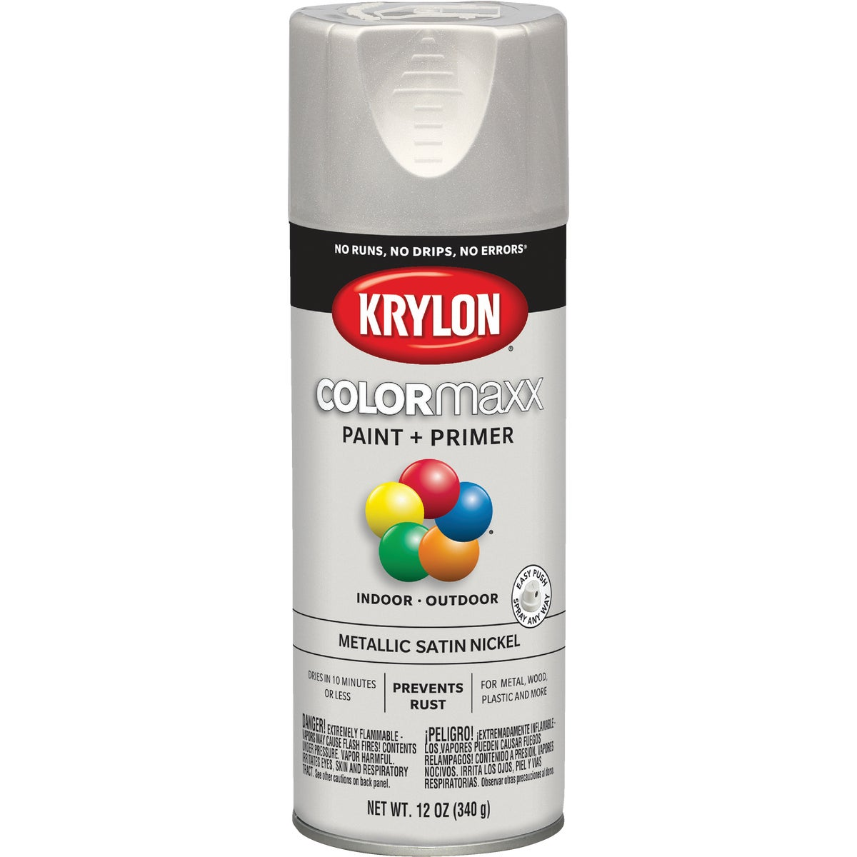 BRUSH NICKEL SPRAY PAINT - 51255 by Krylon/consumer Div