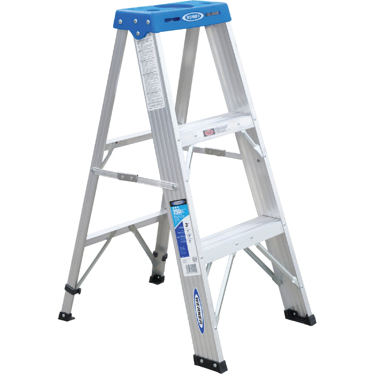 T-1 3' ALUM STEPLADDER - 363 by Werner Ladder
