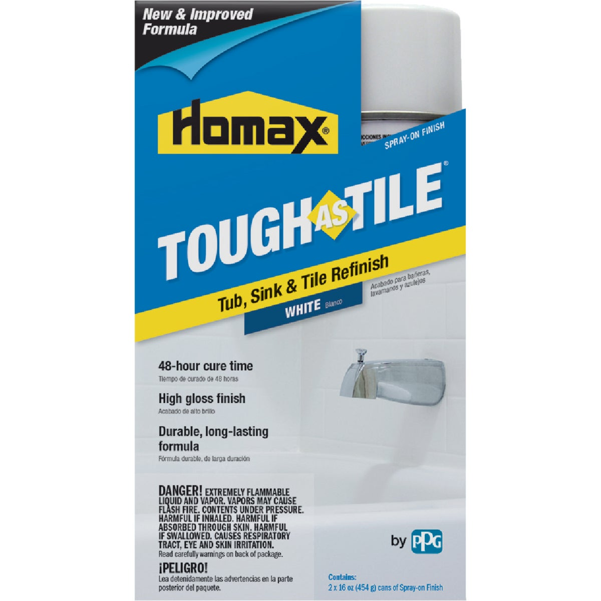 WHITE TILE SPRAY EPOXY - 720771 by Homax Group Inc