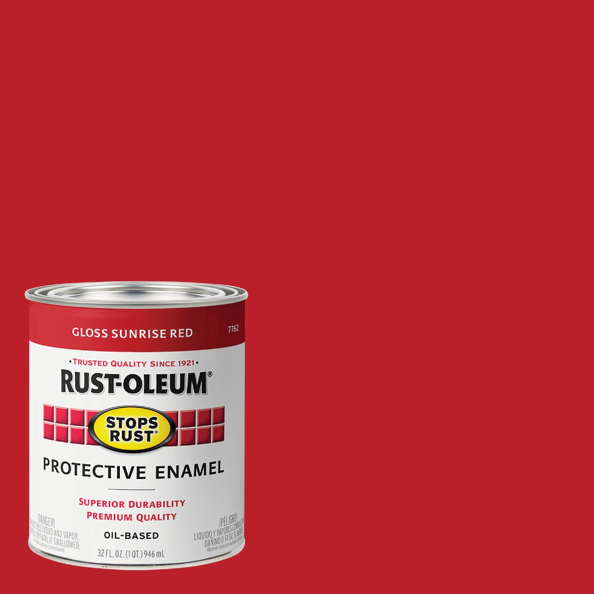 SUNRISE RED ENAMEL - 7762-502 by Rustoleum