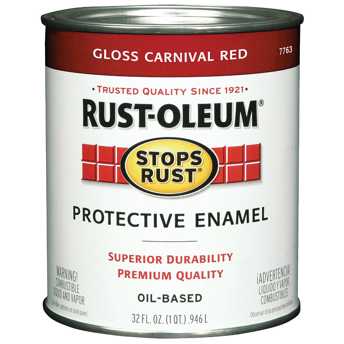CARNIVAL RED ENAMEL - 7763-502 by Rustoleum