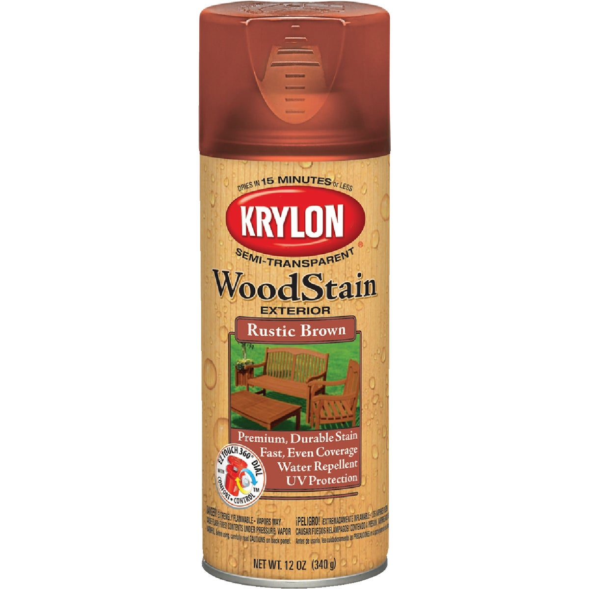 S/T RUST BRN SPRAY STAIN - 3603 by Krylon/consumer Div