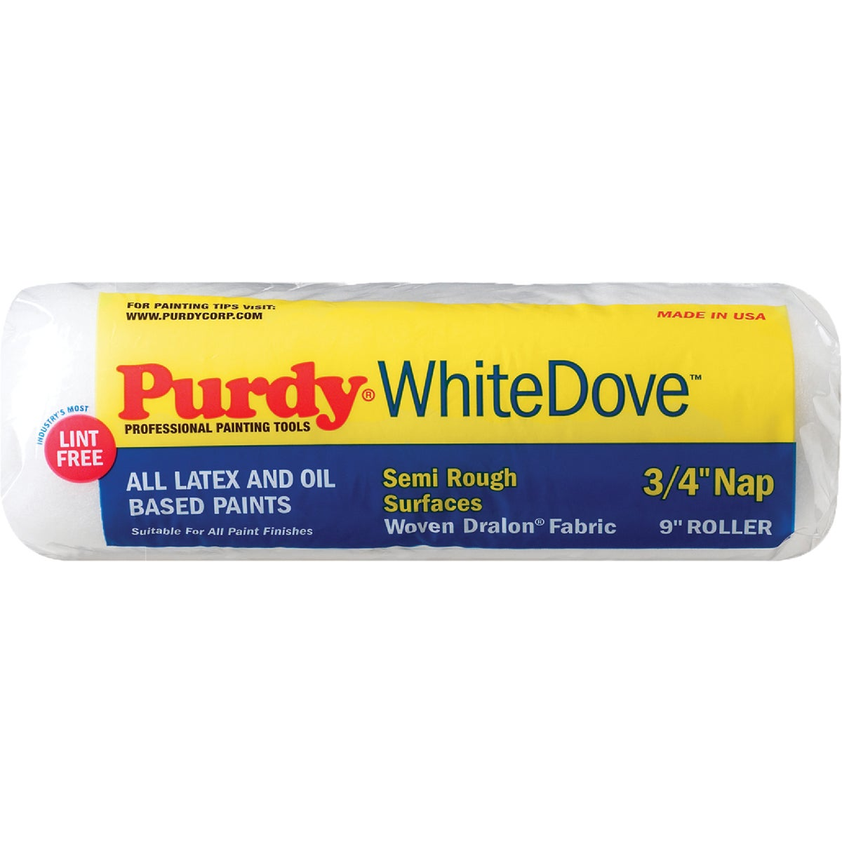 9X3/4 WHITE DOVE COVER - 144672094 by Purdy Bestt Liebco