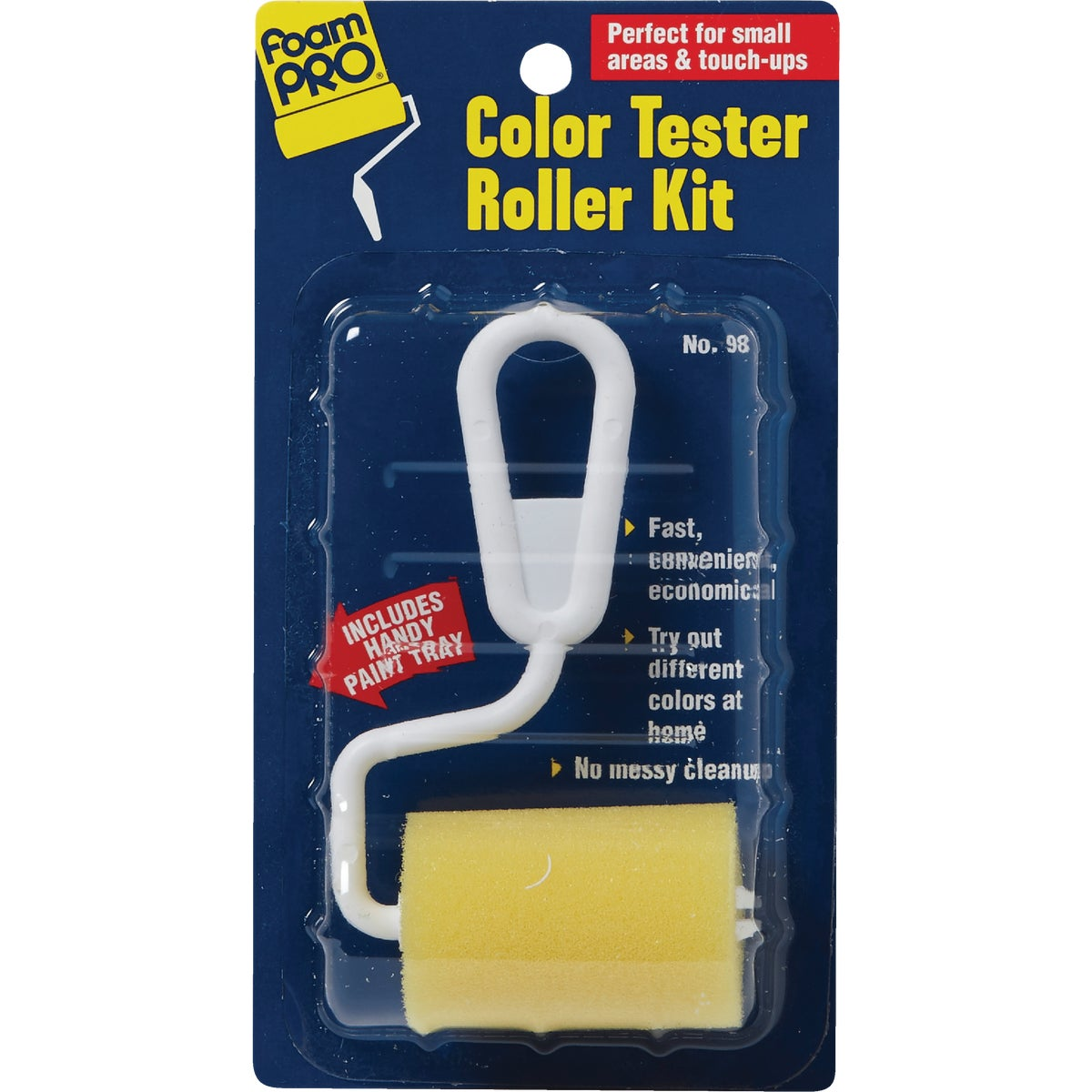 COLOR TESTER ROLLER KIT - 98 by Foam Pro Mfg Inc