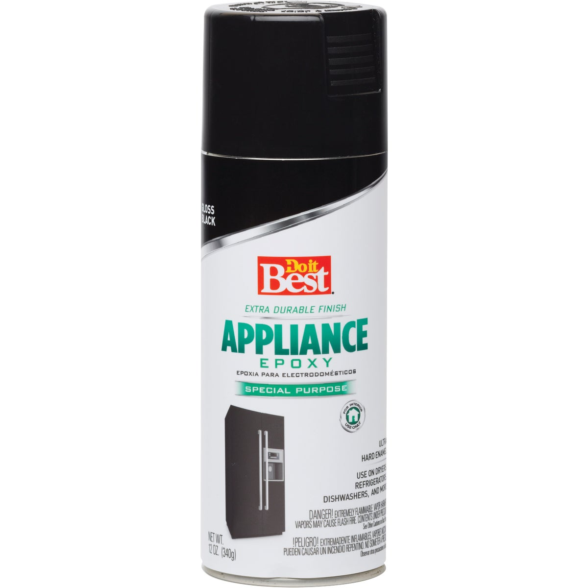 BLACK APPLIANCE ENAMEL - 245207N by Rustoleum