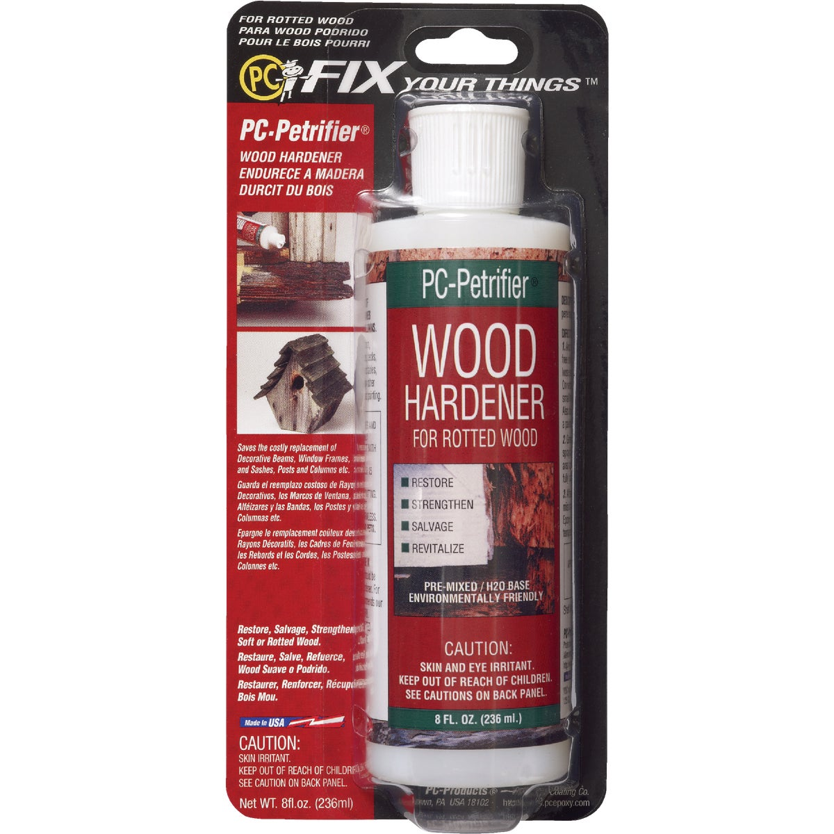 8OZ WOOD HARDENER - 08444 by Protective Coating