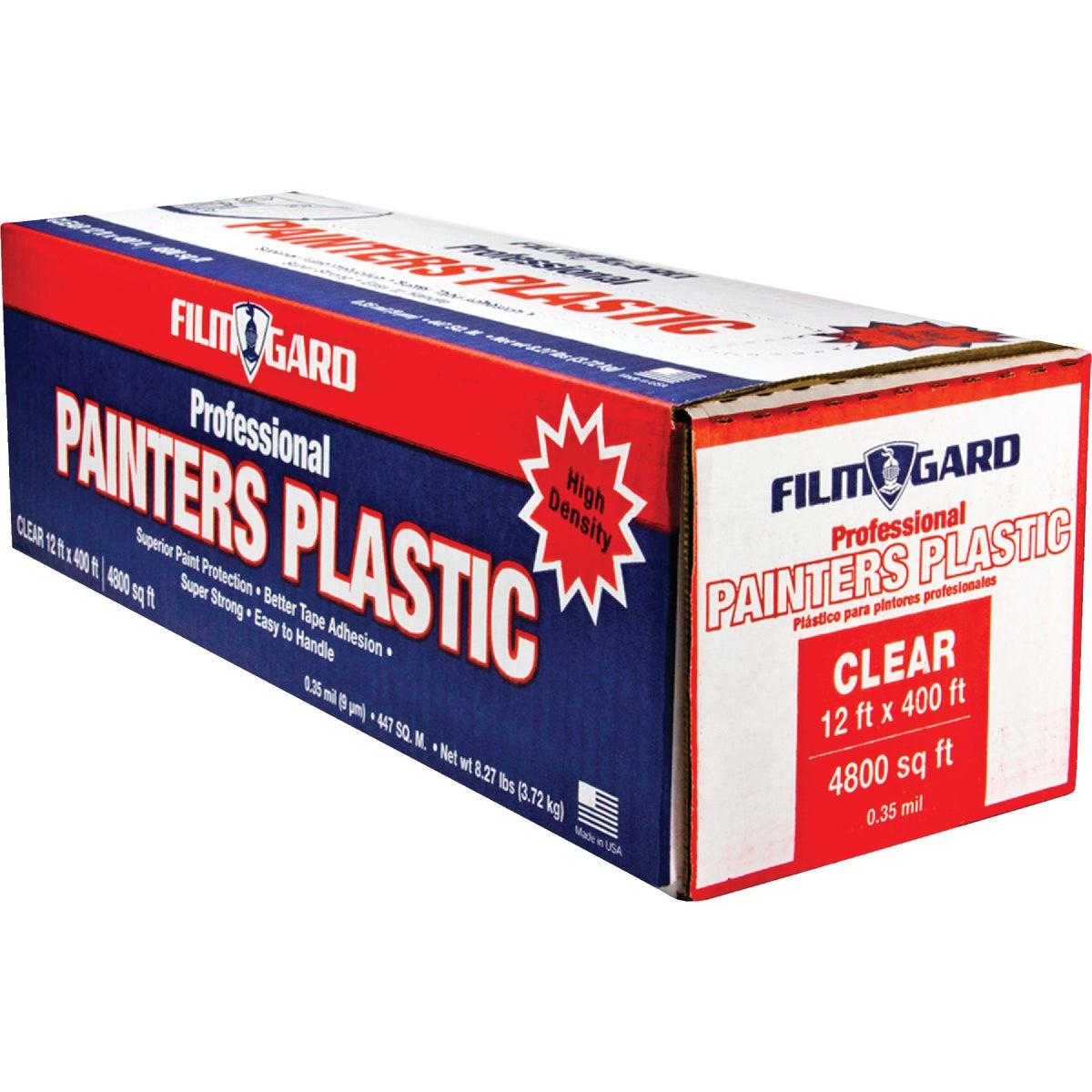 12X400 PLASTIC SHEETING