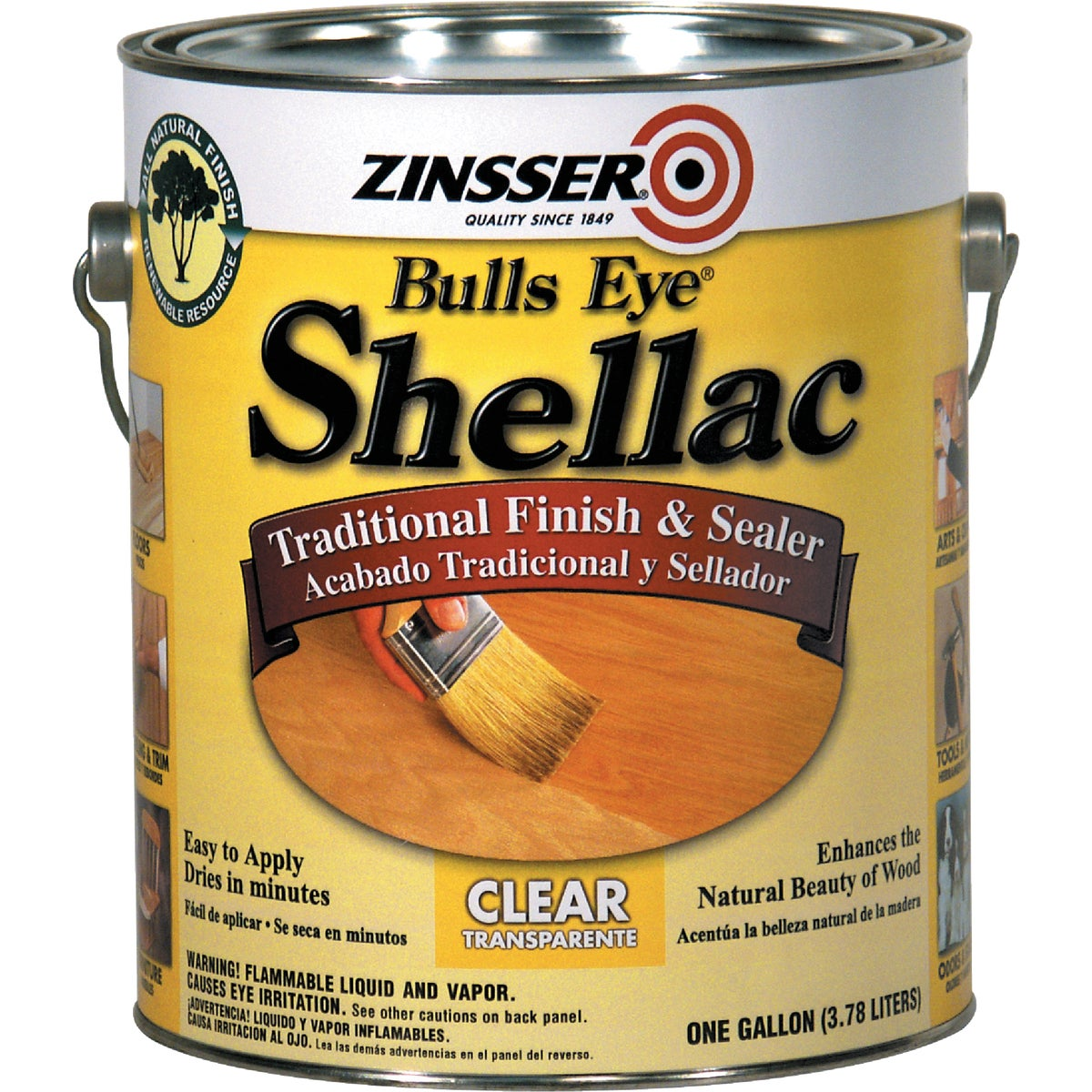3LB CLEAR SHELLAC - 0301 by Rustoleum