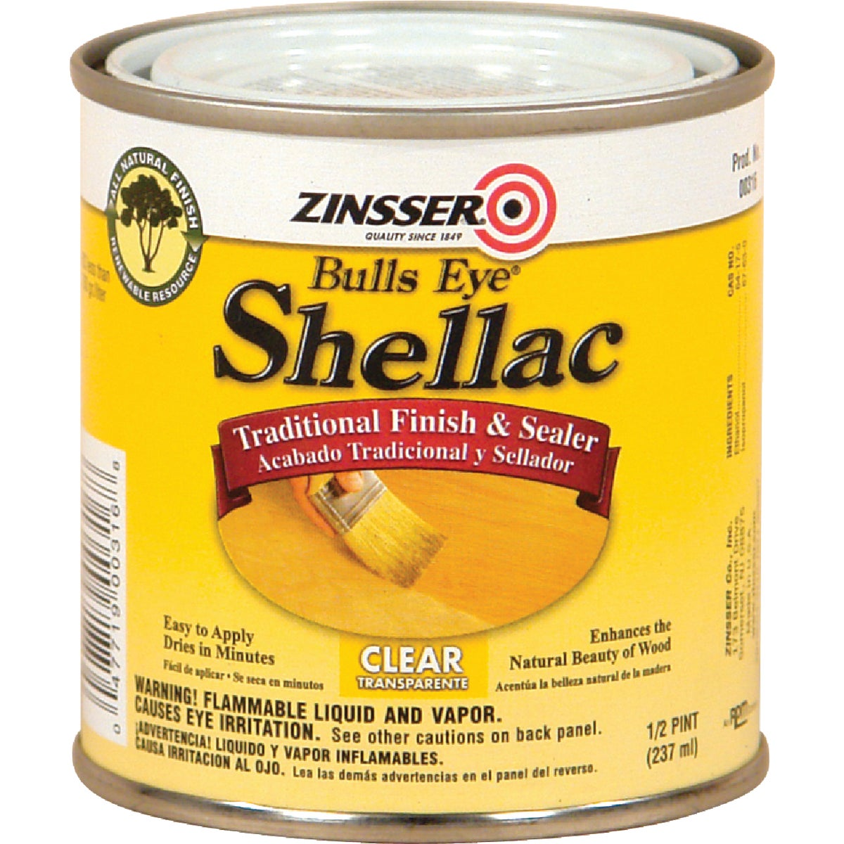 3LB CLEAR SHELLAC - 0316 by Rustoleum