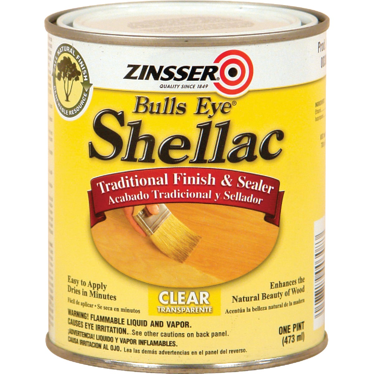 3LB CLEAR SHELLAC - 304H by Rustoleum