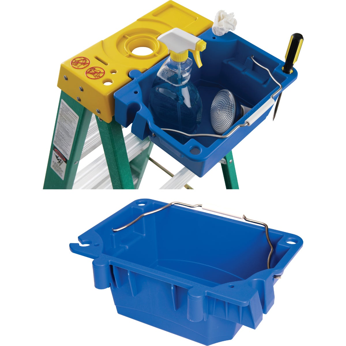 LOCK IN UTILITY BUCKET - AC52-UB by Werner Ladder
