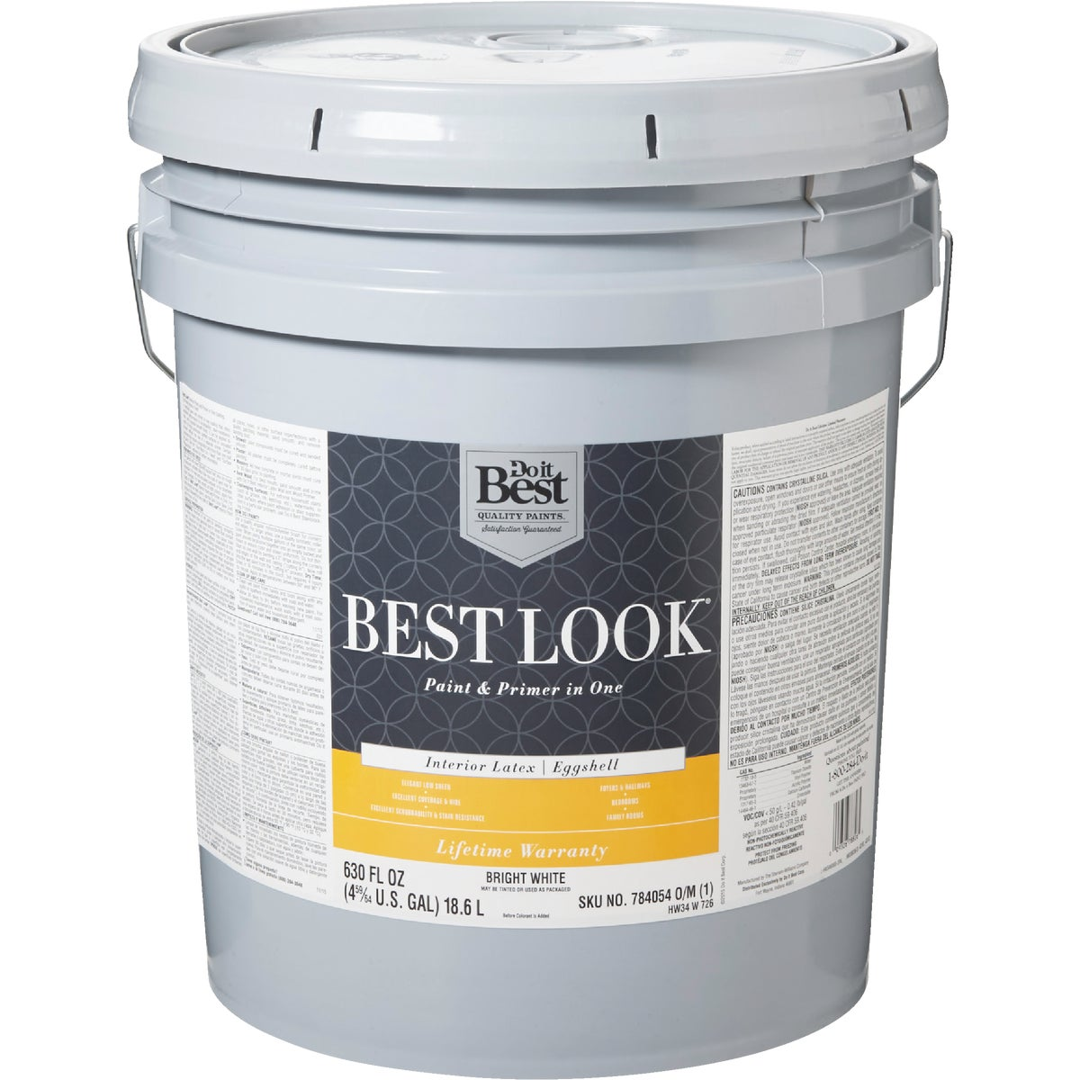 INT EGG BRIGHT WHT PAINT - HW34W0726-20 by Do it Best