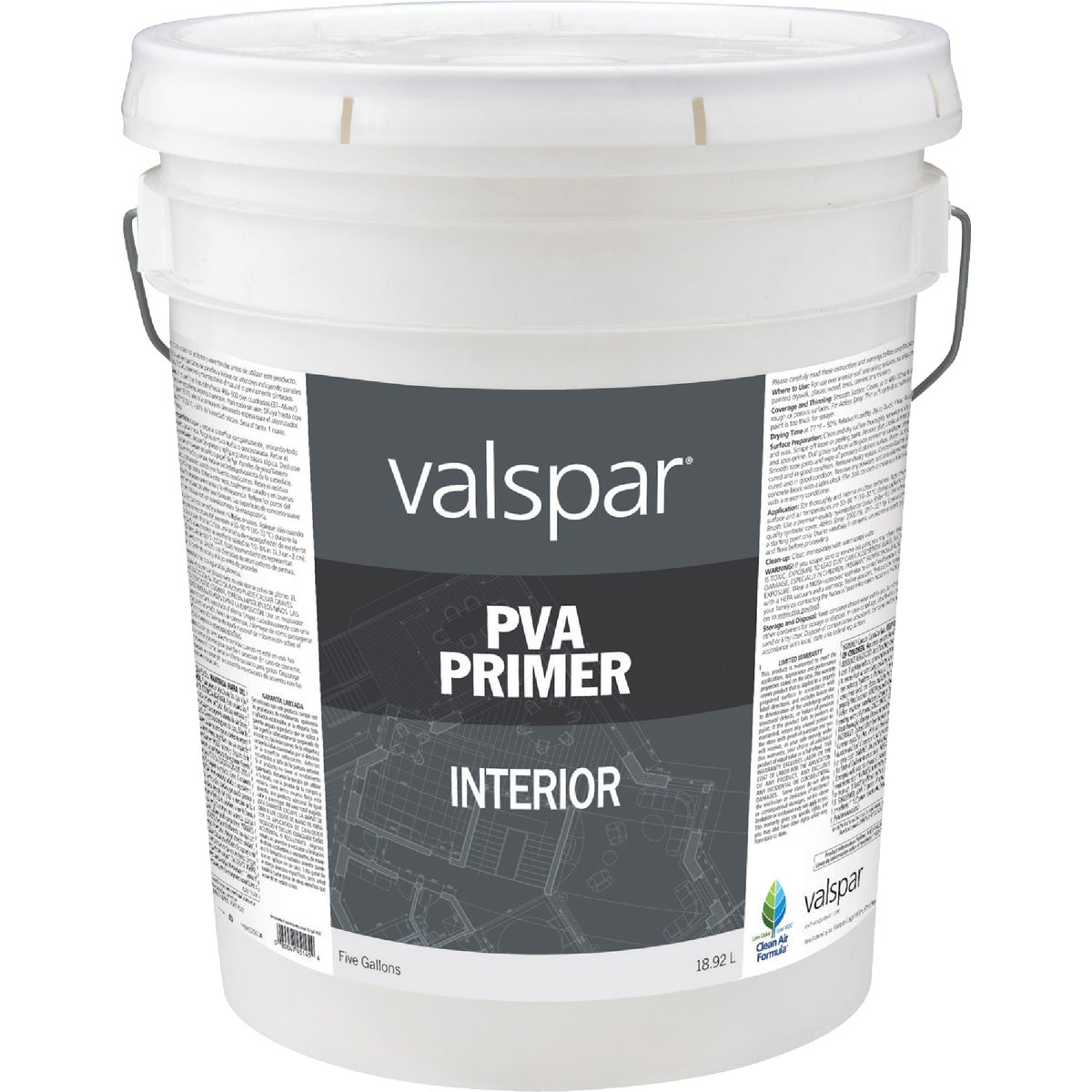 INT LATEX WHT PVA PRIMER - 045.0011288.008 by Valspar Corp