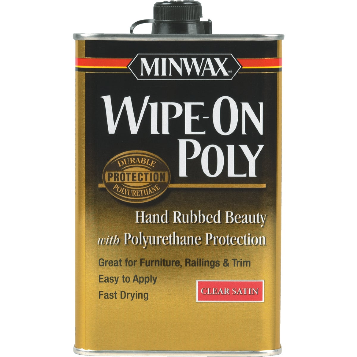SAT WIPE-ON POLYURETHANE - 60910 by Minwax Company