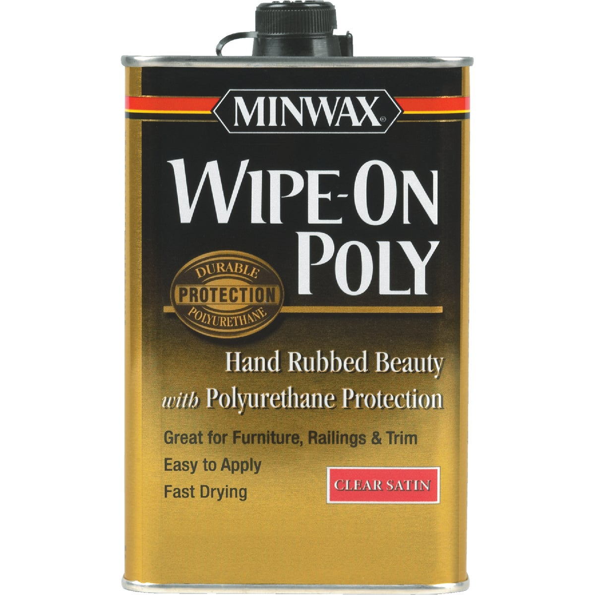 SAT WIPE-ON POLYURETHANE - 40910 by Minwax Company