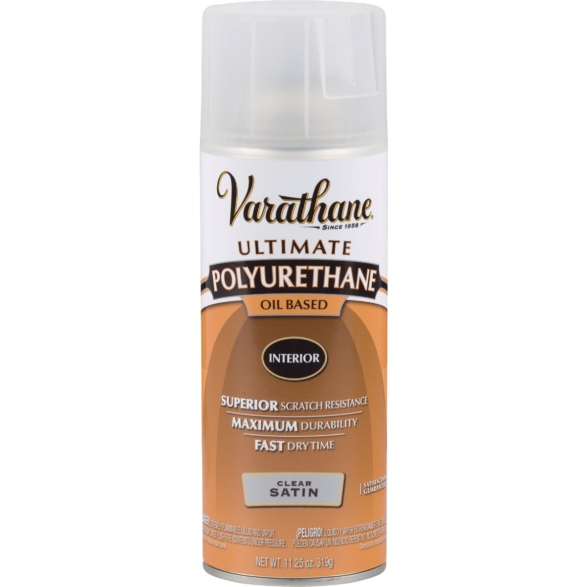 SATIN SPRAY POLYURETHANE - 9181 by Rustoleum