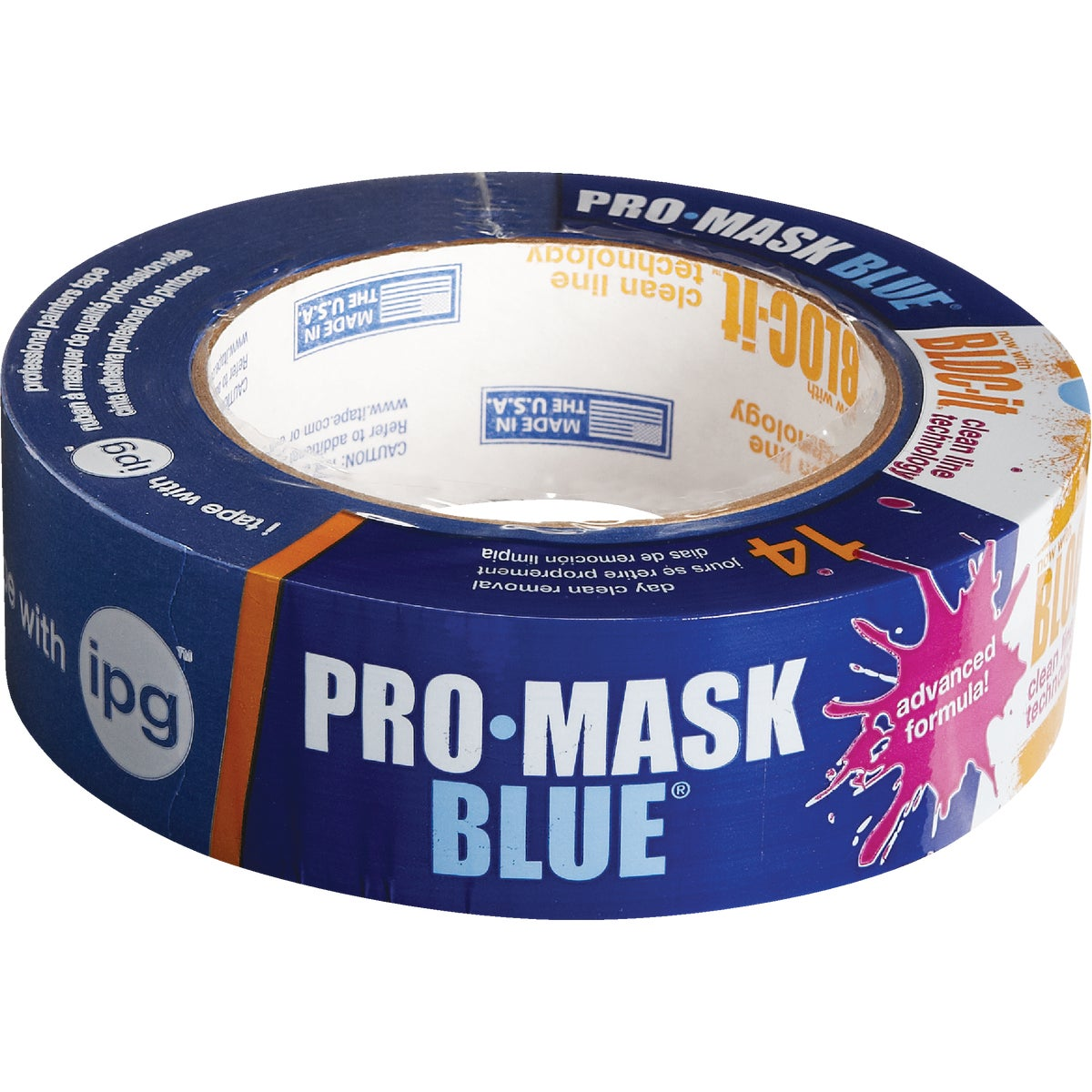 "1.5"" PRO BL MASKING TAPE - 9532 by Intertape Polymer"
