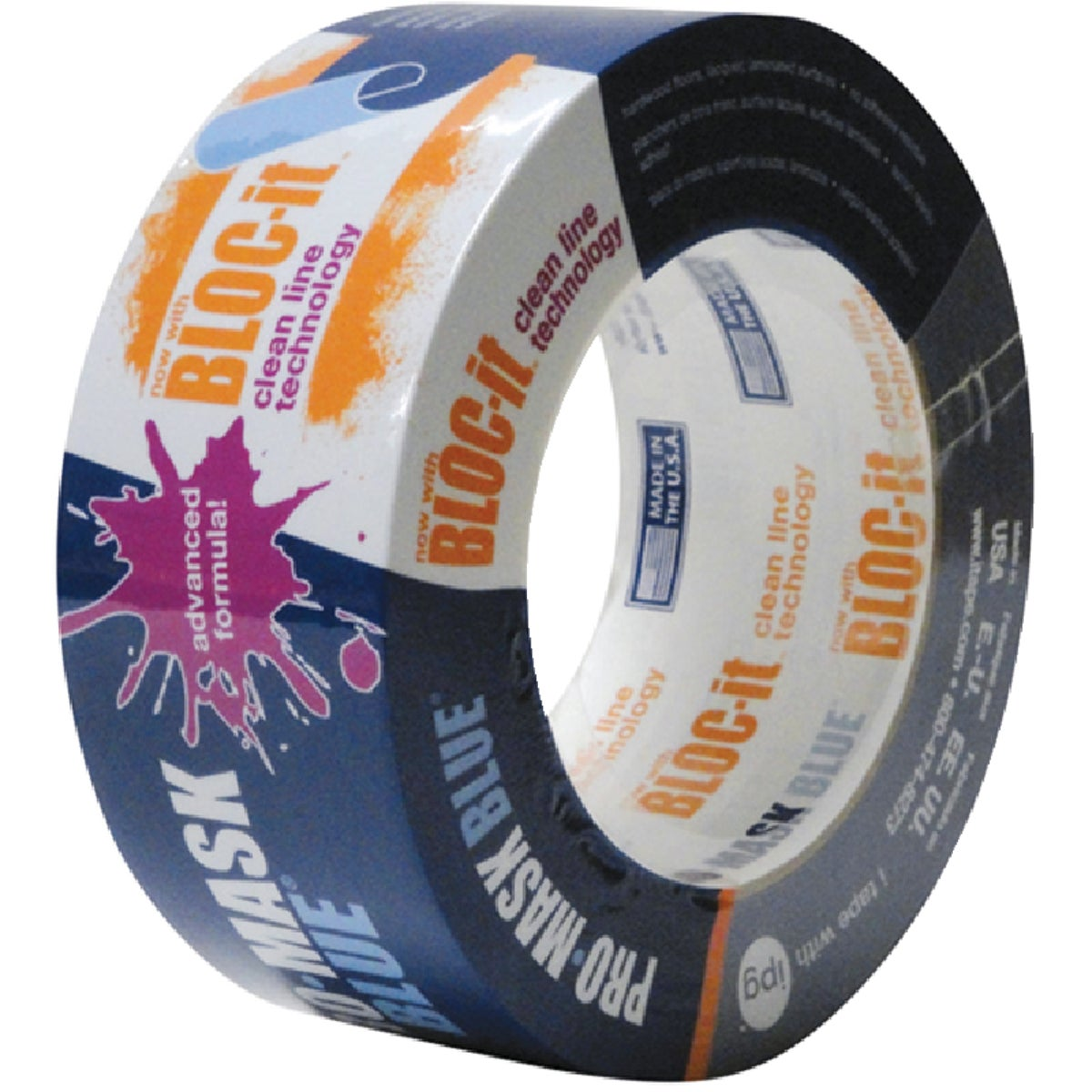 "2"" PRO BLUE MASKING TAPE - 9533 by Intertape Polymer"