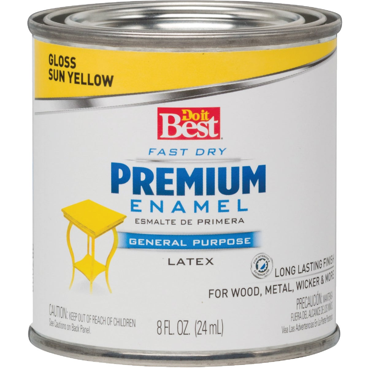 SUN YELLOW LATEX ENAMEL - 2109 by Rustoleum