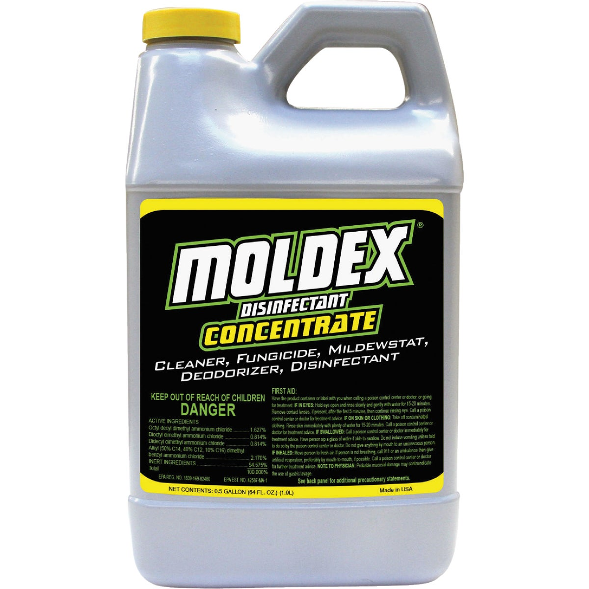 Envirocare Corp Moldex 5510 Disinfectant Concentrate, 64-Ounce (Discontinued ...
