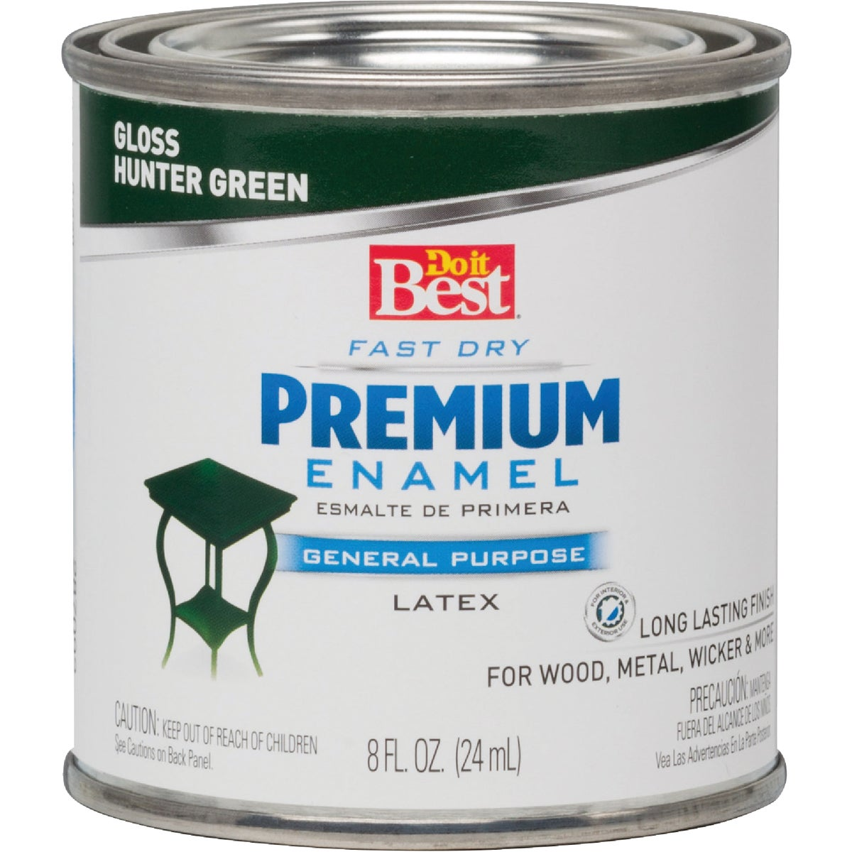 HUNTR GREEN LATEX ENAMEL - 2110 by Rustoleum