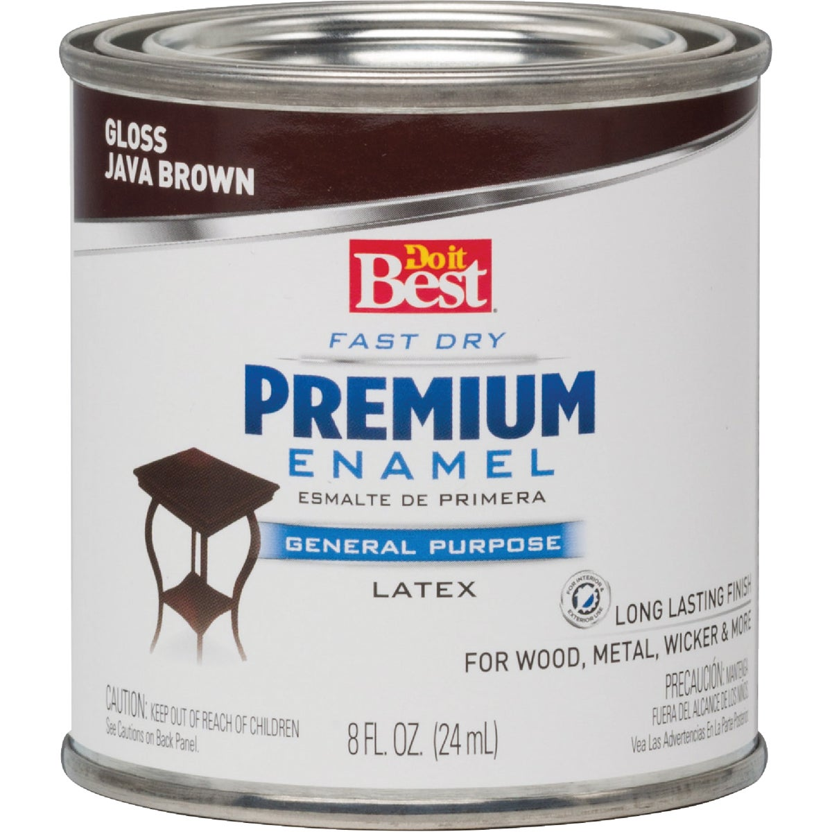 JAVA BROWN LATEX ENAMEL - 203337D by Rustoleum