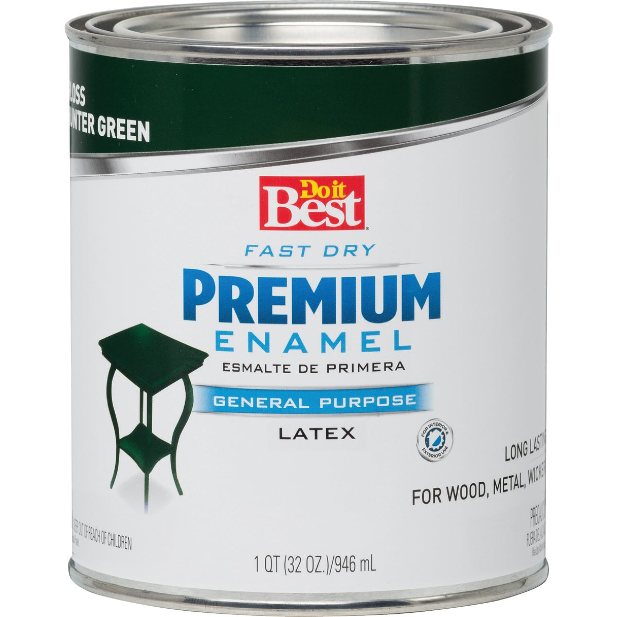 HUNTR GREEN LATEX ENAMEL - 2210 by Rustoleum