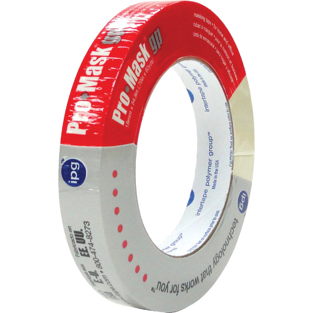 "3/4"" G/P MASKING TAPE - 5100 by Intertape Polymer"
