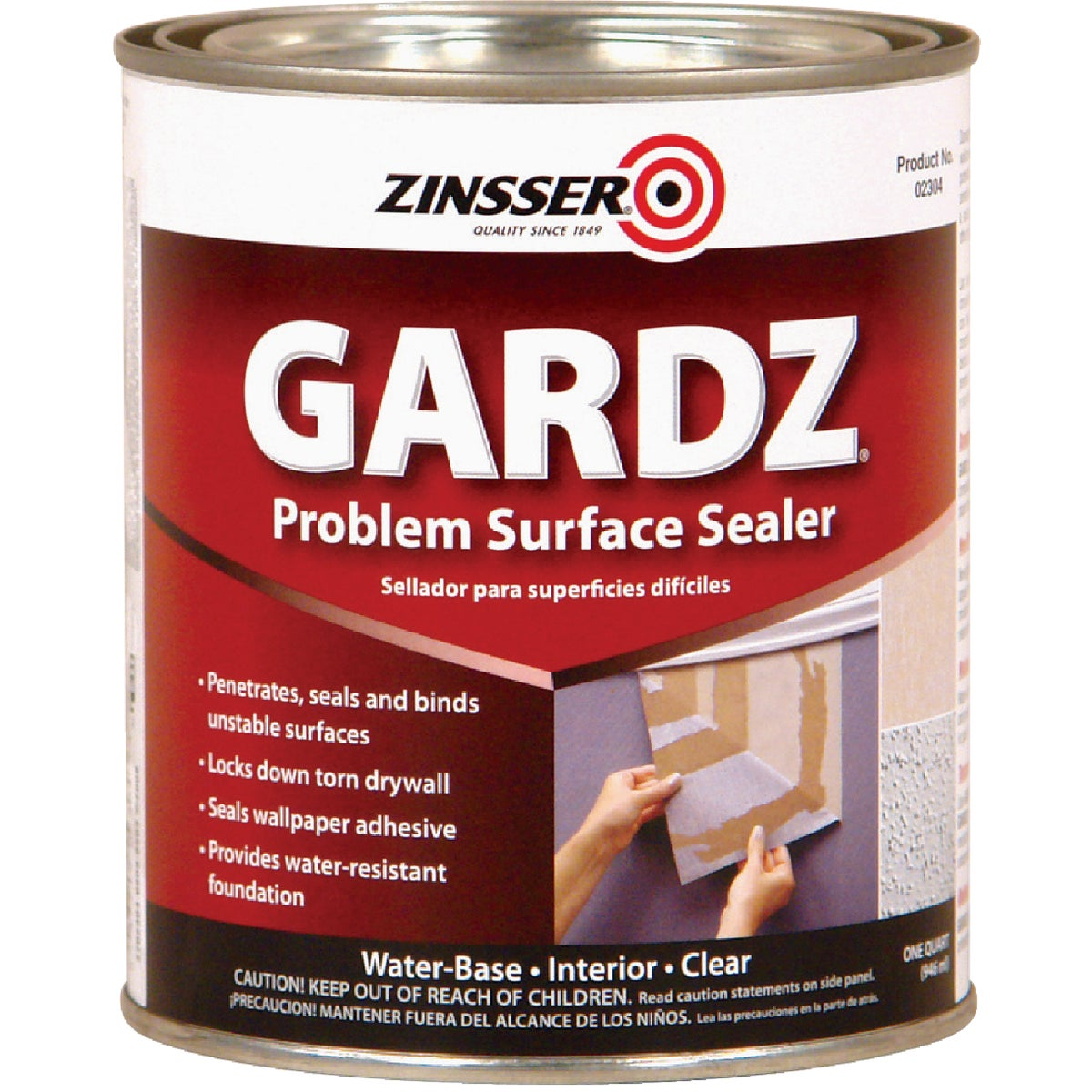 DAMAGED DRYWALL SEALER