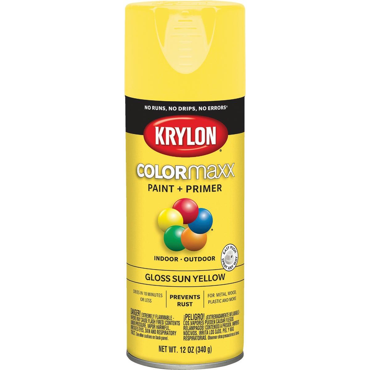 GLS SUN YLLW SPRAY PAINT - 51806 by Krylon/consumer Div