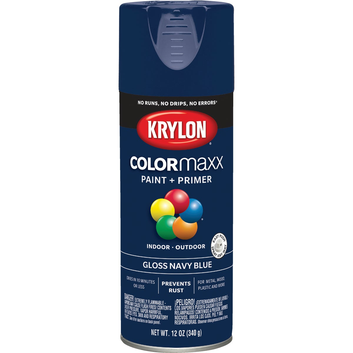 GLS NVY BLUE SPRAY PAINT - 51907 by Krylon/consumer Div