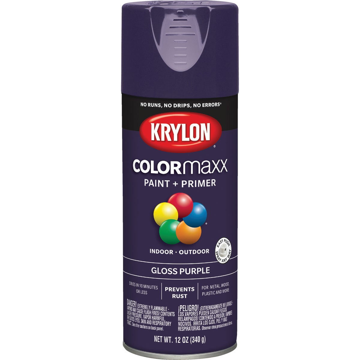 GLOSS PURPLE SPRAY PAINT - 51913 by Krylon/consumer Div