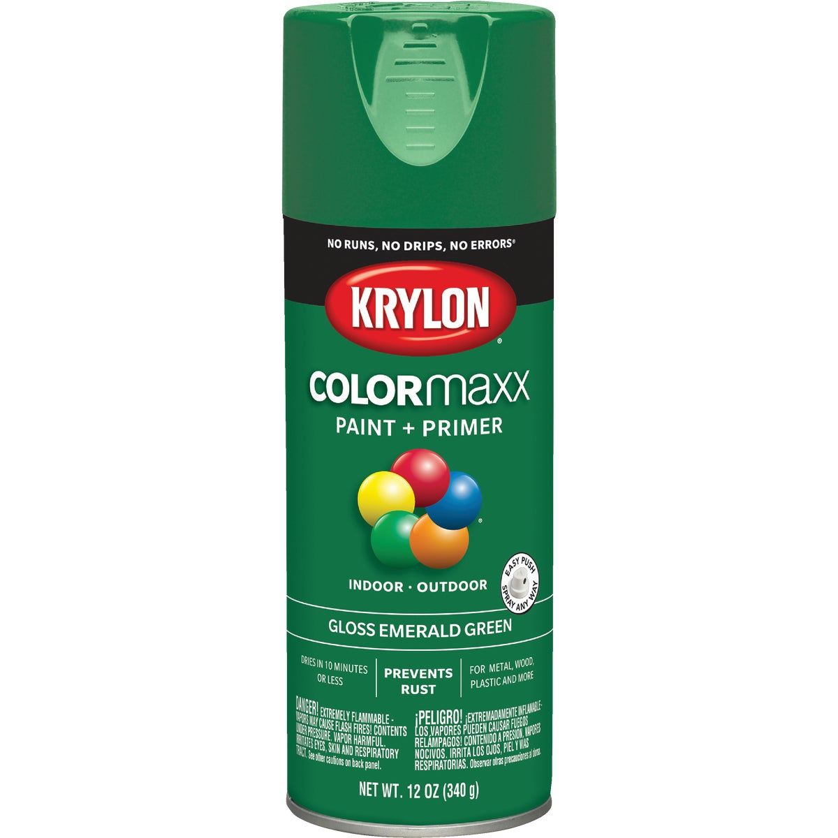 GLS EMRL GRN SPRAY PAINT - 52016 by Krylon/consumer Div