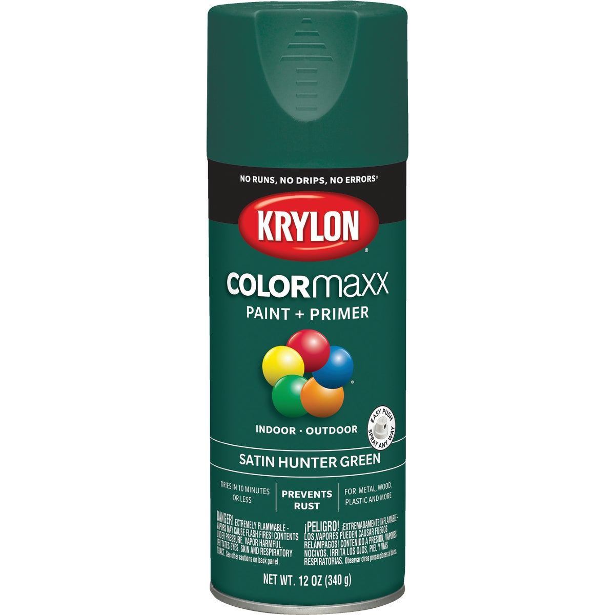 SAT HNTR GRN SPRAY PAINT - 53502 by Krylon/consumer Div