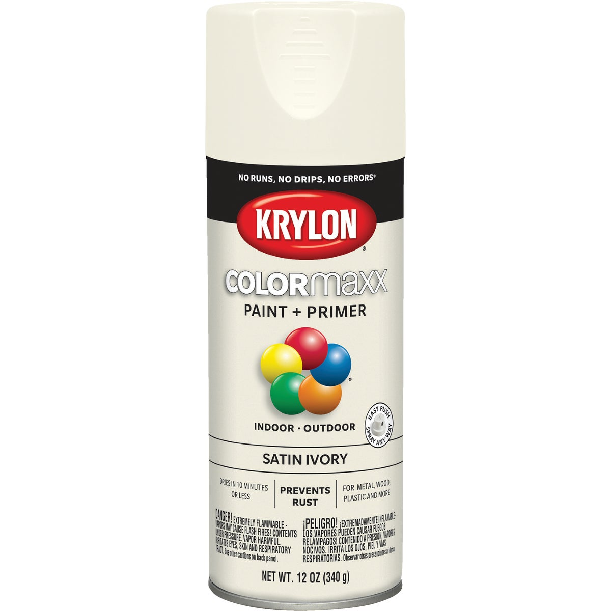 SATIN IVORY SPRAY PAINT - 53510 by Krylon/consumer Div